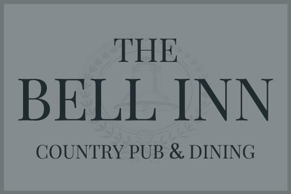 The Bell Inn country pub in Anslow, Burton-on-Trent. Logo